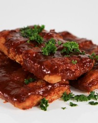 Barbecue Boneless Pork Ribs