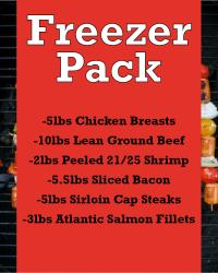 Freezer Pack $250