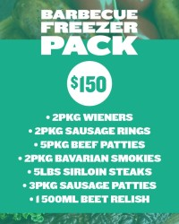 Freezer Pack Barbecue