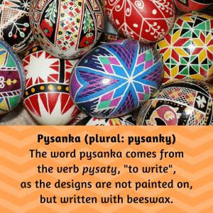 Pysanka Etymology | Ukrainian | Stawnichy's
