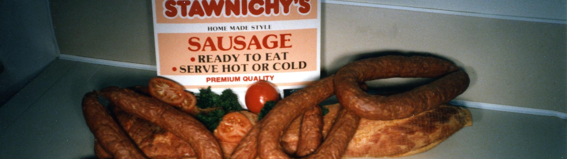 Rings of sausage