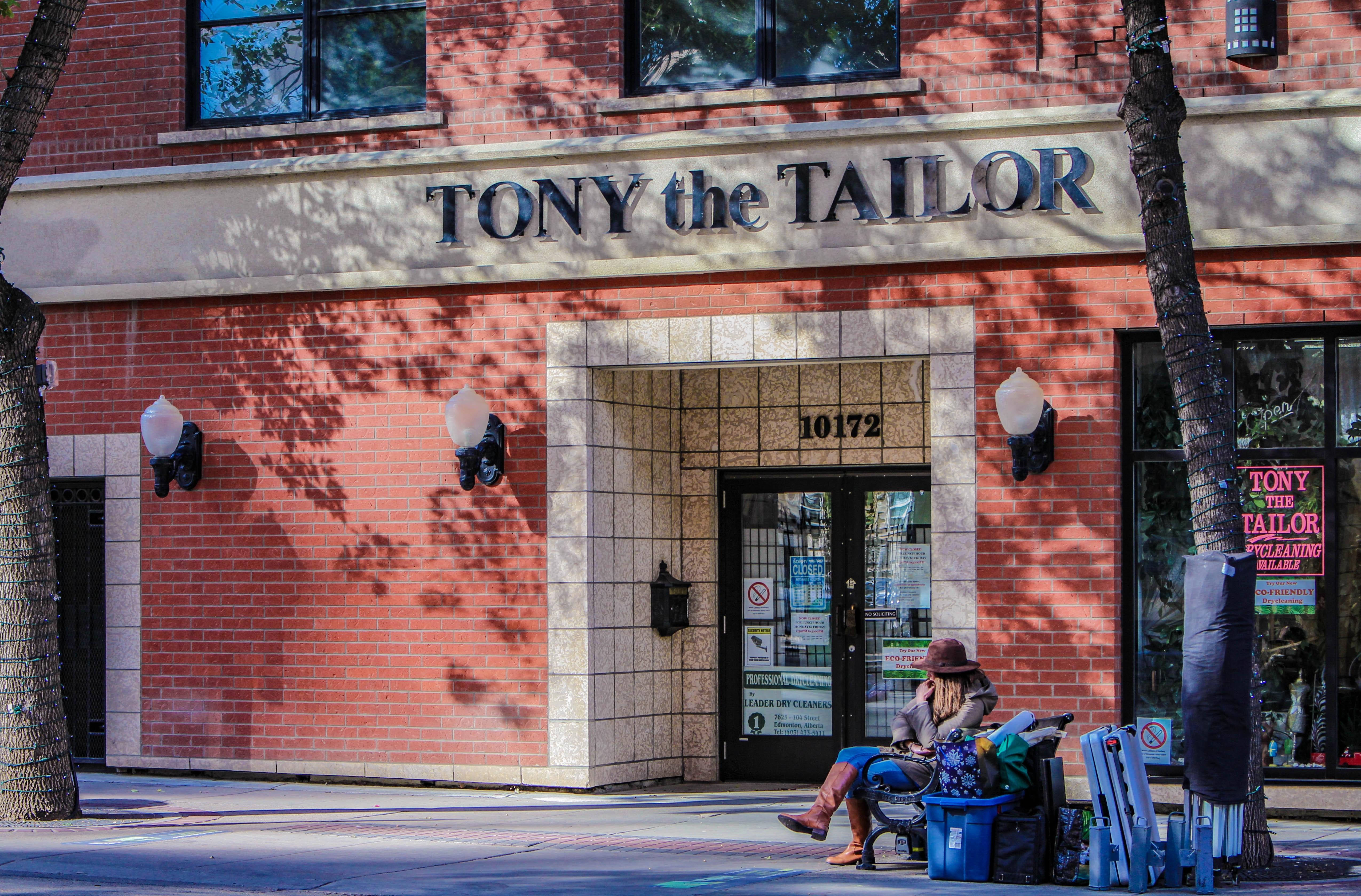 Tony the Tailor Edmonton