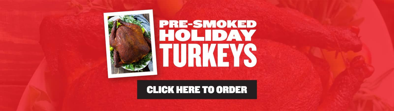 Pre-Smoked Holiday Turkey sale